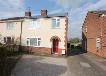 Thumbnail 3 bed semi-detached house for sale in Holt Road, Burbage, Hinckley