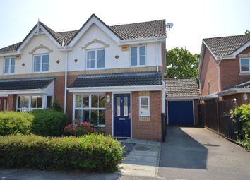 Thumbnail 3 bed semi-detached house for sale in Earlswood Park, Ashley, New Milton