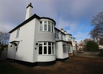 Thumbnail 4 bed semi-detached house for sale in Ridgeway Gardens, Westcliff-On-Sea, Essex