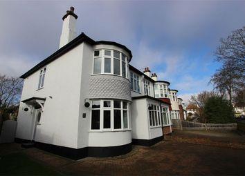 Thumbnail 4 bedroom semi-detached house for sale in Ridgeway Gardens, Westcliff-On-Sea, Essex