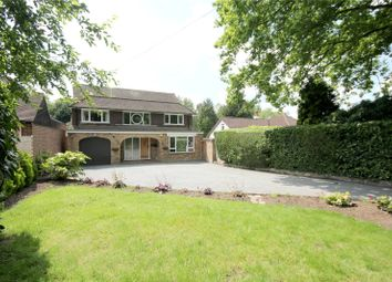 Thumbnail 4 bed detached house for sale in Ruxbury Road, Chertsey, Surrey