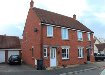 Thumbnail 3 bed property to rent in Hestercombe Close, Weston Village, Weston-Super-Mare