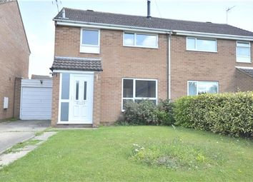 Thumbnail 3 bed semi-detached house for sale in Plantation Crescent, Bredon, Tewkesbury, Gloucestershire