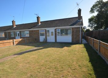 Thumbnail 2 bed terraced bungalow for sale in Glebe Road West, Kessingland, Lowestoft
