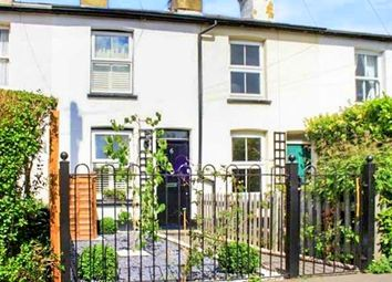 Thumbnail 2 bed terraced house to rent in Grove Road, Chertsey