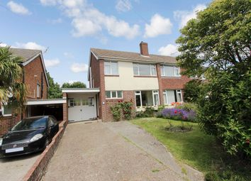 Thumbnail 3 bed semi-detached house for sale in Glencarron Way, Bassett, Southampton