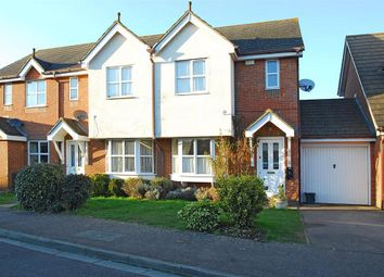 Thumbnail 3 bed terraced house to rent in Riverview Gardens, Cobham
