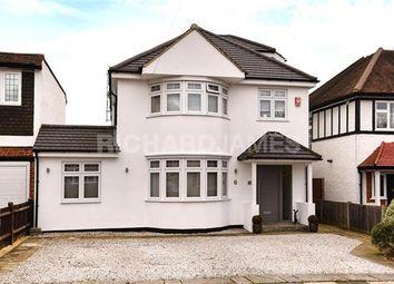 Thumbnail 5 bed detached house for sale in Sunbury Avenue, London
