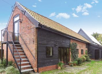 Thumbnail 4 bedroom barn conversion to rent in Harleston Road, Linstead, Halesworth