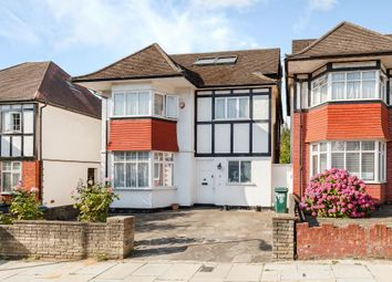 Thumbnail 5 bedroom detached house for sale in Shirehall Gardens, Hendon
