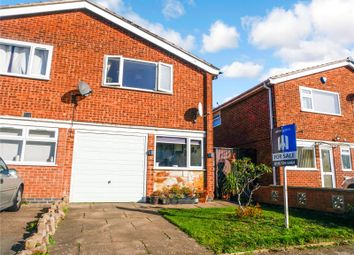 Thumbnail 3 bed semi-detached house for sale in Stancliff Road, Leicester