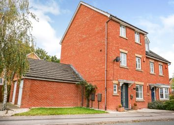 Thumbnail 4 bed semi-detached house for sale in Laxton Grove, Solihull