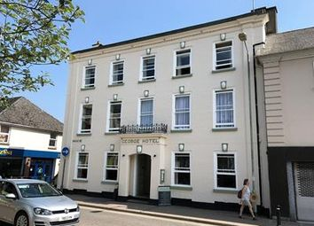 Thumbnail Hotel/guest house for sale in The George, 1 Broad Street, South Molton, Devon