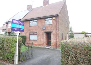 Thumbnail 3 bedroom semi-detached house to rent in Seymour Road, Nottingham