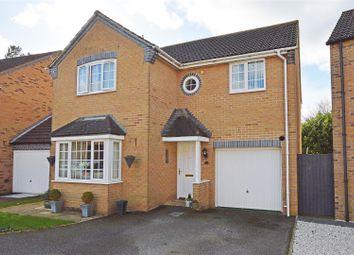 Thumbnail 4 bed detached house for sale in Maple Drive, Stilton, Peterborough