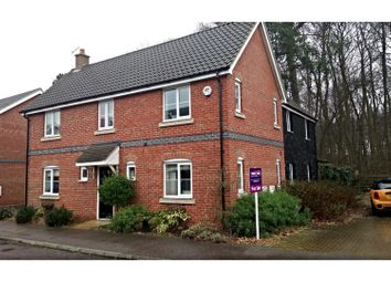 Thumbnail 6 bed detached house for sale in Hares Close, Ipswich