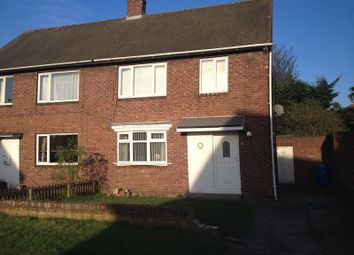 Thumbnail 3 bed semi-detached house to rent in Barrasford Road, Cramlington