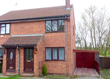 Thumbnail 2 bed semi-detached house to rent in Glebe View, Forest Town, Mansfield