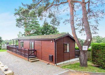 Thumbnail 2 bedroom mobile/park home for sale in Matchams Lane, Hurn, Christchurch