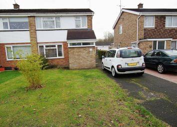 Thumbnail 3 bed semi-detached house for sale in Gantlettdene, Swindon