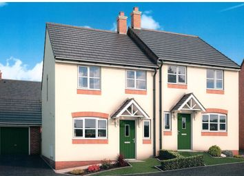 Thumbnail 3 bed semi-detached house for sale in Malvern View, Bartestree, Hereford