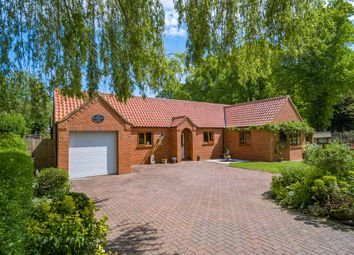 Thumbnail 3 bed detached bungalow for sale in Carlton Road, Manby, Louth