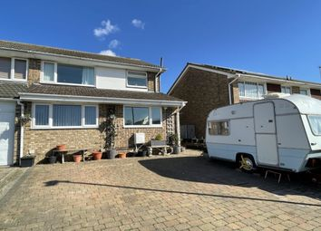 Thumbnail 3 bed semi-detached house for sale in Grasmere Gardens, Folkestone