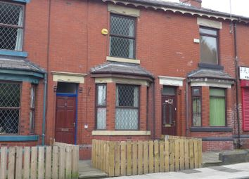 Thumbnail 2 bed terraced house for sale in Bury New Road, Heywood