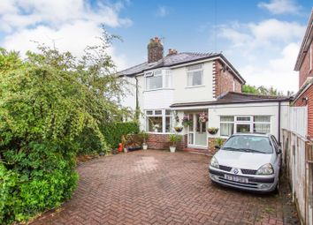 Thumbnail 3 bed semi-detached house for sale in Euclid Avenue, Grappenhall