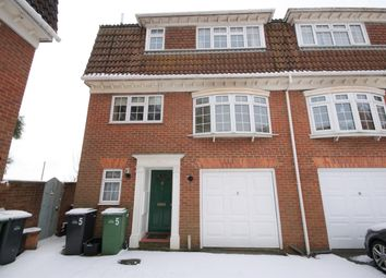 Thumbnail 4 bed semi-detached house for sale in Brittany Mews, St Leonards On Sea, East Sussex
