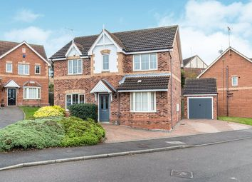 Thumbnail 4 bed detached house for sale in Hanging Bank Court, North Anston, Sheffield