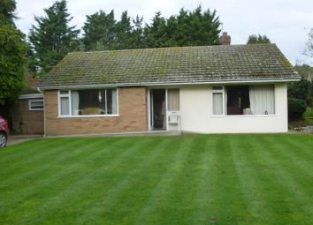 Thumbnail 2 bed detached bungalow for sale in Back Lane, Lound, Lowestoft