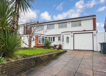 3 bed semi-detached house for sale in Brabham Crescent, Streetly, Sutton Coldfield B74