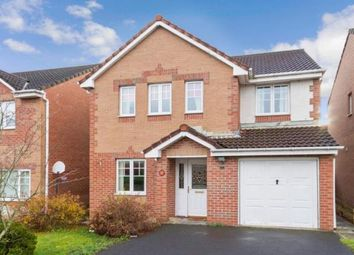 Thumbnail 4 bed detached house for sale in Roslin Place, Chapelhall, Airdrie, North Lanarkshire