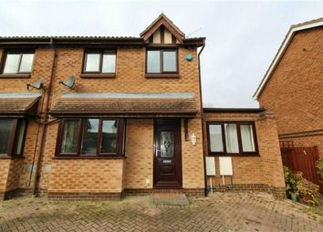Thumbnail 4 bed semi-detached house for sale in Aintree Close, Bletchley, Milton Keynes