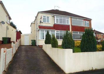 Thumbnail 3 bedroom semi-detached house for sale in Lynton Avenue, Claregate, Wolverhampton, West Midlands