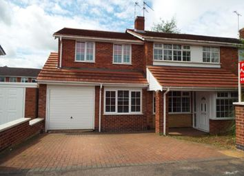 Thumbnail 4 bed semi-detached house for sale in Ashton Close, Wigston, Leicestershire