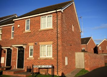 Thumbnail 3 bed semi-detached house for sale in Poplar Court, Stapeley, Nantwich