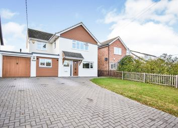 Thumbnail 4 bed detached house for sale in Main Road, Chelmsford