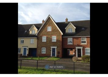 Thumbnail 4 bed terraced house to rent in Deas Road, South Wootton, King's Lynn