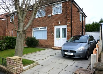 Thumbnail 3 bed semi-detached house for sale in Hardfield Road, Manchester