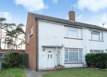 Thumbnail 3 bed semi-detached house for sale in Carshalton Road, Camberley, Surrey.