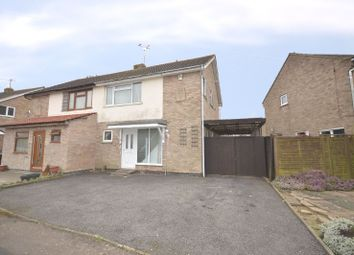 Thumbnail 3 bedroom semi-detached house for sale in Briar Meads, Oadby, Leicester
