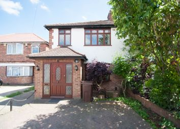 Thumbnail 4 bed semi-detached house to rent in Longford Gardens, Hayes