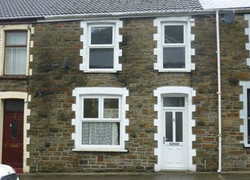 Thumbnail 3 bed terraced house to rent in Oxford St, Pontycymer, Bridgend