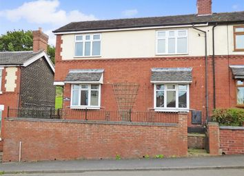 Thumbnail 2 bed semi-detached house for sale in High Street, Alsagers Bank, Stoke-On-Trent