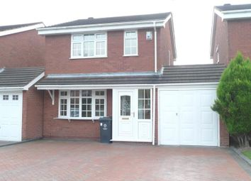 Thumbnail 3 bed detached house to rent in Leasowe Drive, Perton, Wolverhampton