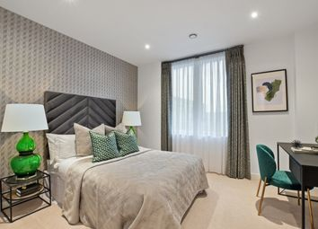 Thumbnail 3 bed flat for sale in Shackleton Way, Royal Albert Wharf, London