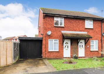 Thumbnail 2 bed semi-detached house for sale in Braemore Close, Thatcham