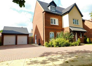 Thumbnail 6 bed detached house for sale in Rutland Close, Yarnfield, Stone